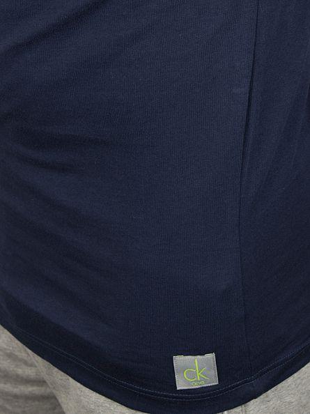 Calvin Klein Blue Shadow Longsleeved Loungewear T-Shirt