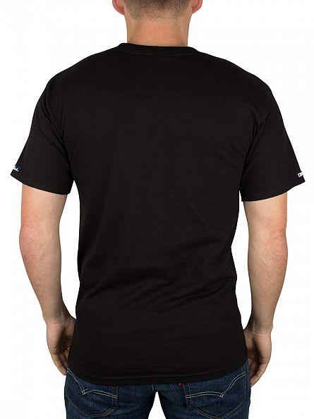 Crooks & Castles Black Castle Cordage Graphic T-Shirt
