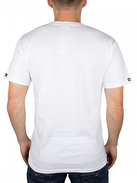 Crooks & Castles White Lords Of The Underworld T-Shirt
