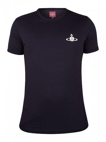 Vivienne Westwood Navy Logo T-Shirt