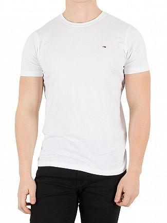 Tommy Hilfiger Denim Classic White Original Logo T-Shirt