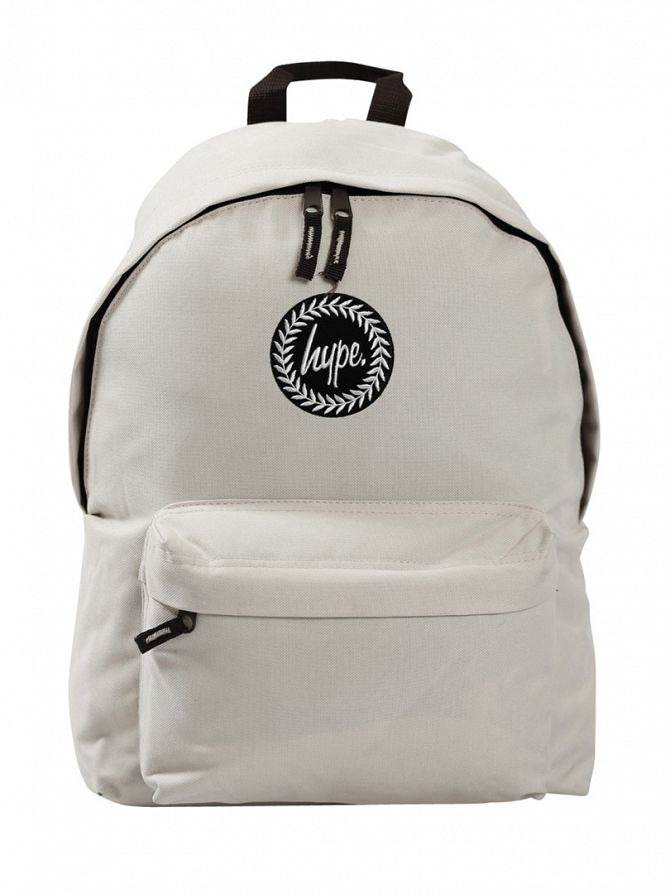 Hype Light Grey Backpack