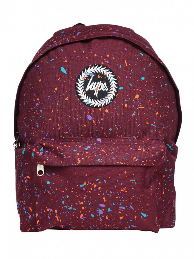 Hype Burgundy Primary Backpack