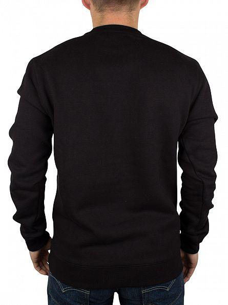 Farah Vintage Black Logo Sweatshirt