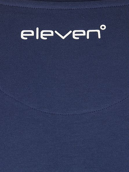 11 Degrees Navy Brand Carrier Logo T-Shirt