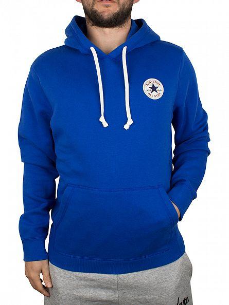 Converse Blue Overhead Logo Hoodie