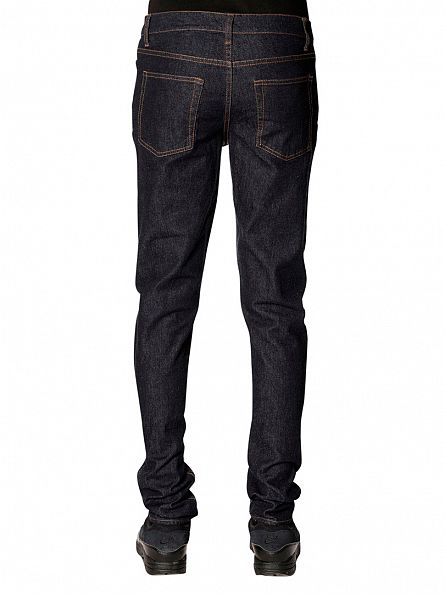 Cheap Monday Blue Rinse Sonic Slim Fit Jeans