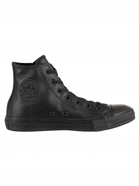Converse Black Mono CT AS HI Trainers
