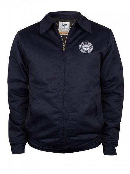 Hype Navy Family Logo Jacket