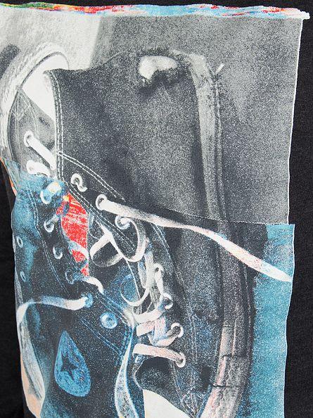 Converse Black Graphic Vertical Trainers Sweatshirt