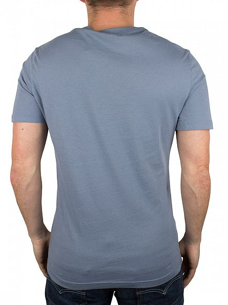 Original Penguin Flint Stone Cross Stitch Graphic T-Shirt