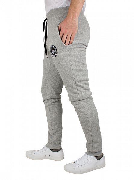 Hype Grey Crest Logo Joggers