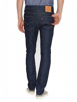 Levi's Broken Raw 510 Skinny Fit Jeans