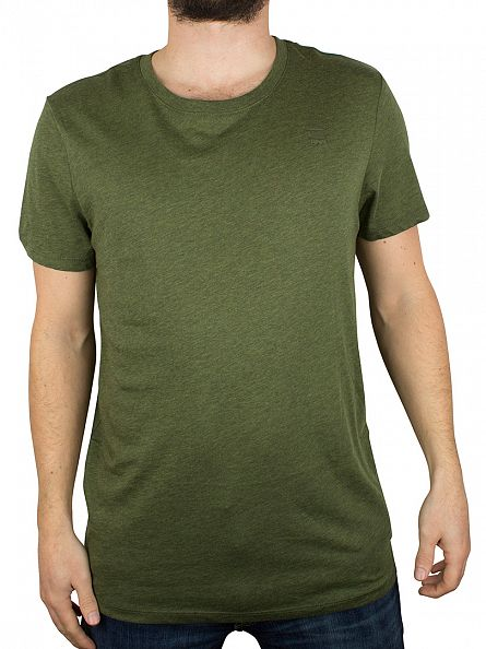 G-Star Green 2 Pack Crew Neck T-Shirts