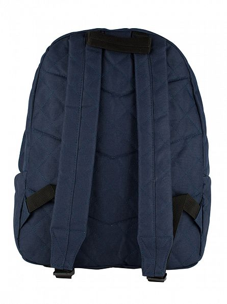 Hype Navy Quilted Logo Backpack