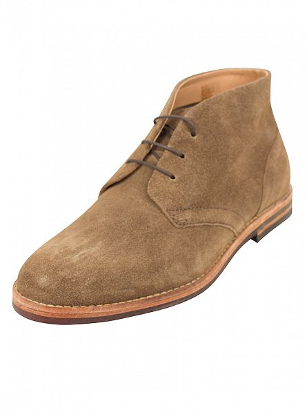H by Hudson Tobacco Houghton 3 Suede Boots