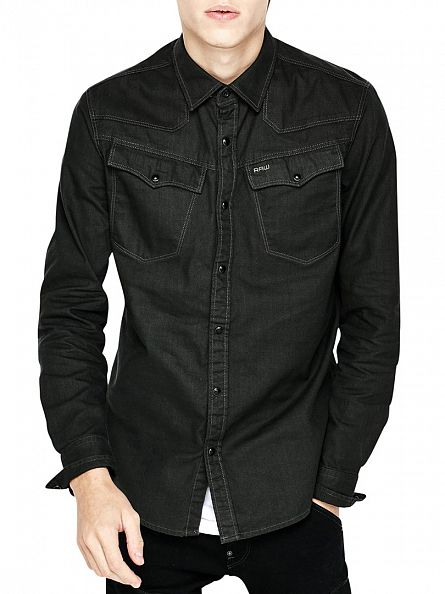G-Star Cloack 3301 Popper Slim Fit Shirt
