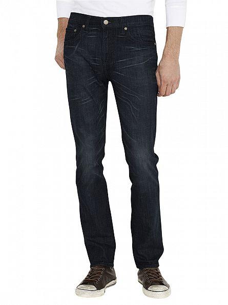 Levi's Ink Storm 511 Slim Fit Jeans
