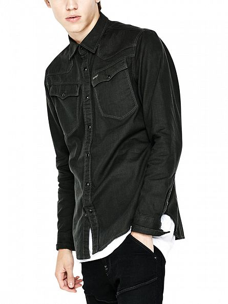 G-Star Cloack 3301 Popper Slim Fit Shirt