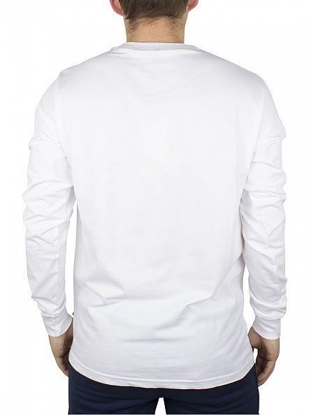 Ellesse Optic White Bianchi Longsleeved Logo T-Shirt