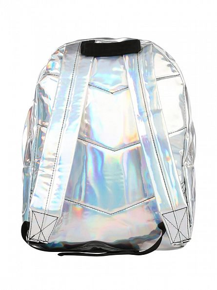 Hype Silver Holographic Backpack