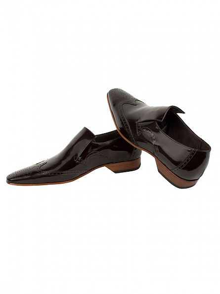 Jeffery West Dark Brown Escoba College Shoes