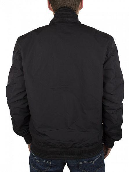 Levi's Black Thermore Bomber Zip Jacket