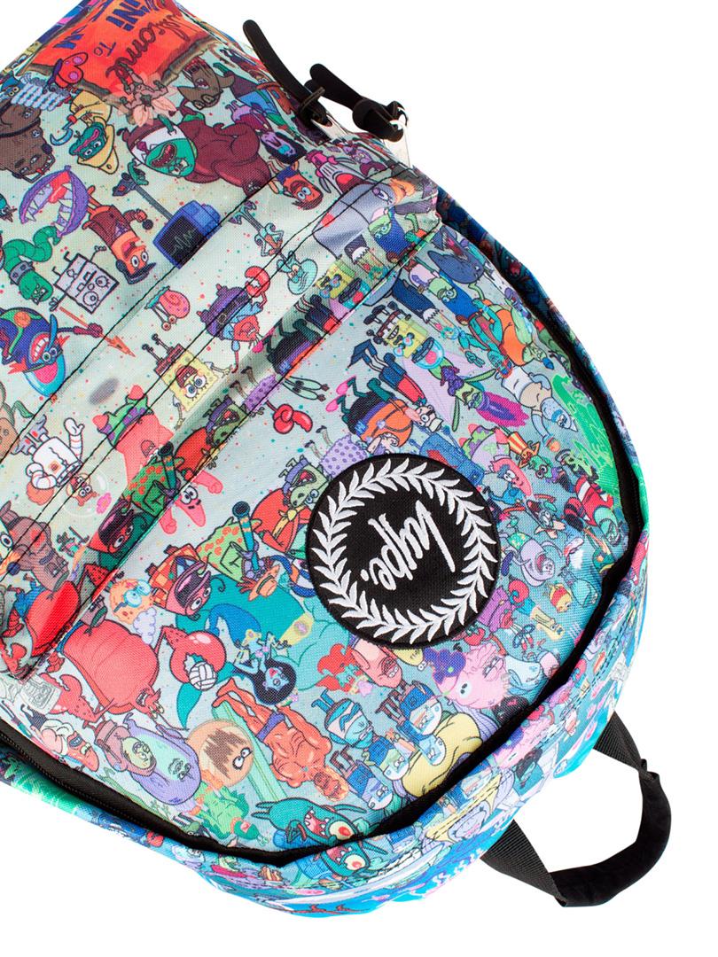 Hype Multi Spongebob Everyone Cast Backpack