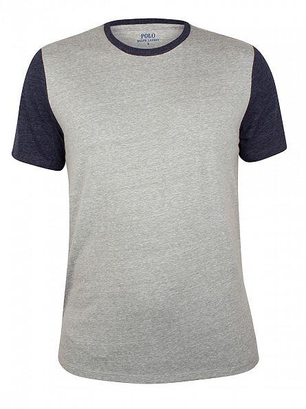 Polo Ralph Lauren Andover Heather Raglan Logo T-Shirt