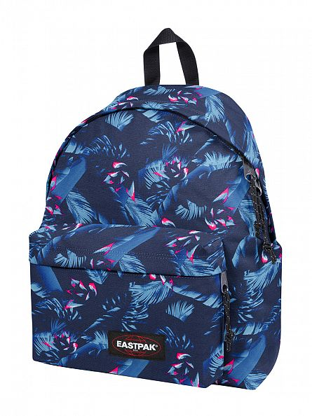 Eastpak Brize Blue Padded PakR Floral Backpack