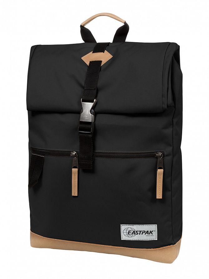 Eastpak Into Black Macnee Logo Backpack