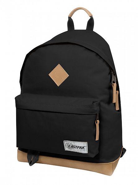 Eastpak Into Black Wyoming Logo Backpack