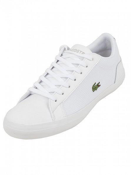 Lacoste White Lerond 116 1 SPM Trainers