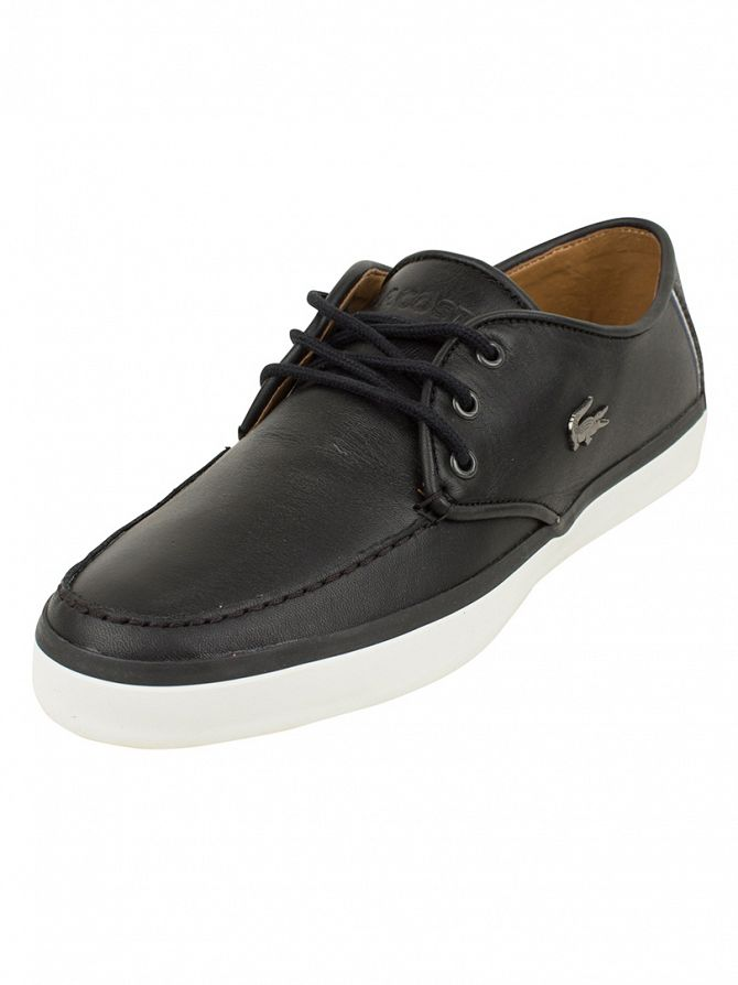 Lacoste Black Sevrin LCR SRM Trainers