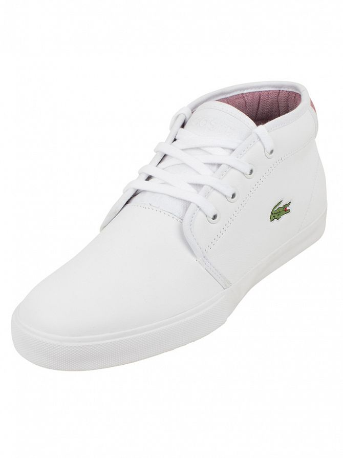 Lacoste White Ampthill 116 2 SPM Trainers