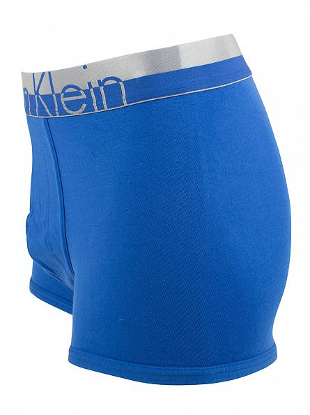 Calvin Klein Blue Magnetic Force Cotton Stretch Trunk