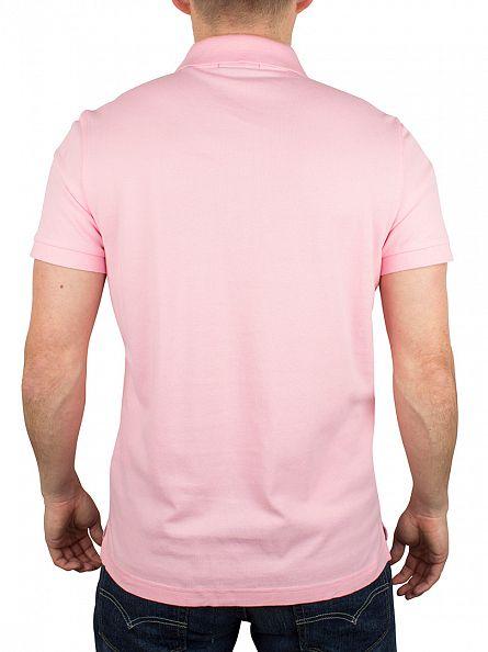 Gant Soft Rose Original Pique Rugger Logo Polo Shirt