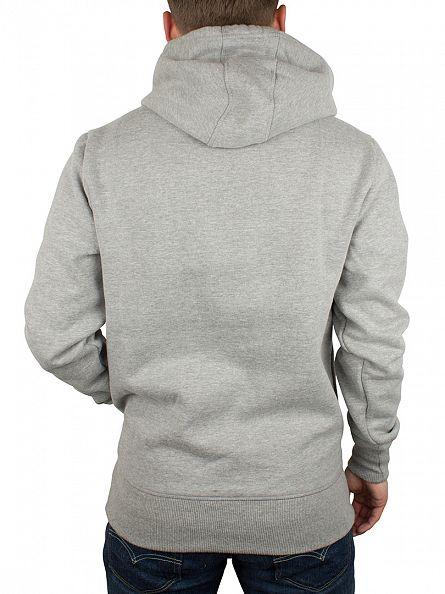 Ellesse Athletic Grey Marl Gottero Oh Graphic Hoodie