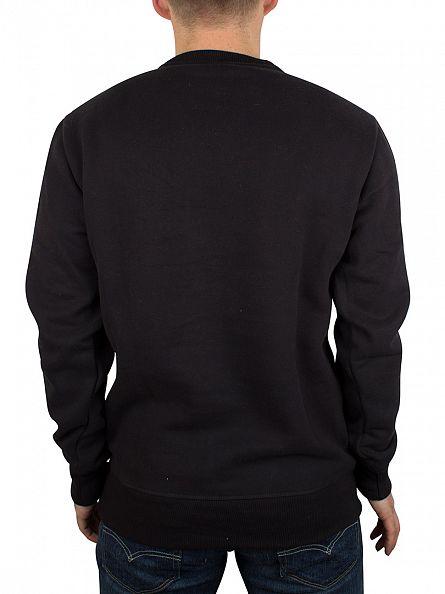 Ellesse Anthracite Black Succisco Crew Graphic Sweatshirt