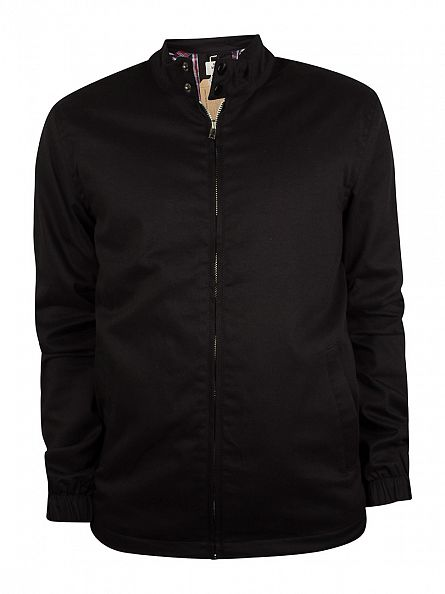 Bellfield Black Dorsey Harrington Jacket