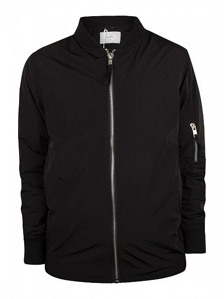 Bellfield Black Virtual Bomber Jacket