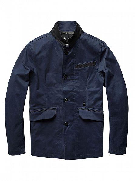 G-Star Saru Blue Admiral Blazer Jacket