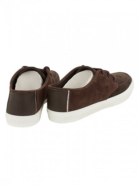 Lacoste Dark Brown Sevrin 116 1 CAM Trainers