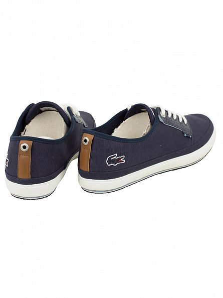 Lacoste Navy Saulieu 116 1 CAM Trainers