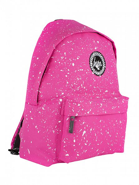 Hype Pink/White Speckle Backpack