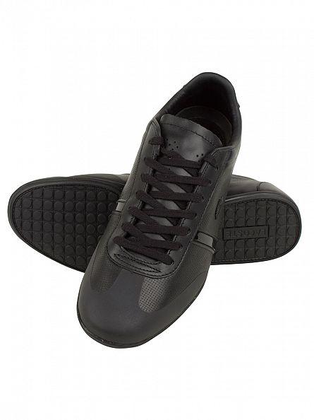 Lacoste Black Mokara 116 Cam Trainers