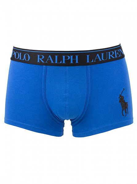 Polo Ralph Lauren Hydro Blue Classic Stretch Cotton Logo Trunks