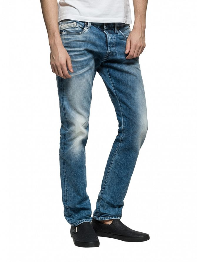 Replay Light Denim Waitom Regular Slim Fit Jeans