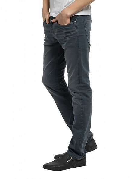 Replay Charcoal Waitom Regular Slim Fit Jeans