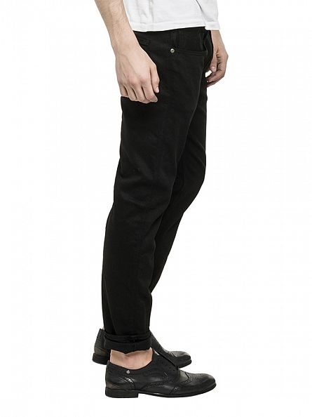 Replay Black Anbass Slim Fit Jeans
